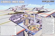 Captain Scarlet Cloudbase Amber Room by ArthurTwosheds.deviantart.com on @DeviantArt