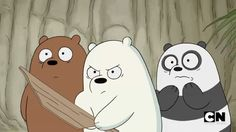 Protective Ice Bear ❄✊💘 Tag someone you will protect ❤ #webarebears #babybears #protect #icebear