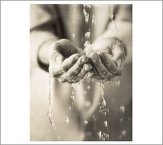 Water Hands Framed Print by Michal Venera #potterybarn