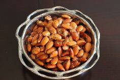Rosemary Roasted Almonds  - so great for a snack or for a holiday appetizer  - or even gift bags!