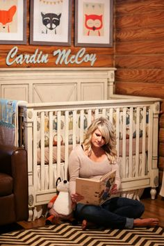 Southern Priss Designs Rustic Baby Nursery