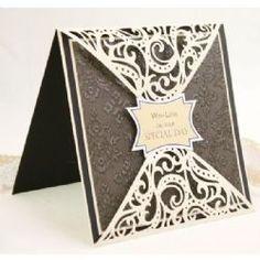 Crafters Companion Diesire 'Create-a-Card' Metal Die - Bordeaux