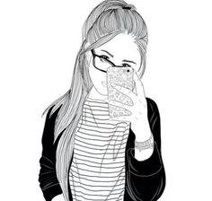 Dibujo hipster