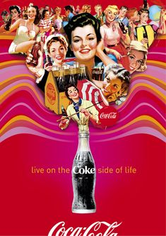 Coca-Cola Advertisements | hot_red_summer__ice_cold_coke_by_coca_cola_artgallery