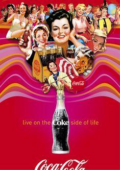Con estas fotos, es obvio por que Coca Cola es tan popular…