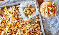 As the perfect snack food, popcorn works as a flavor delivery system with an endless number of ways to customize it. But around the holidays, a few flavors stand out as favorites. If you