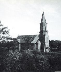 Куркийоки  Kurkijoki Central Asia, Old Pictures, Finland, Cathedral, Boards, Lost, History, Travel, Planks