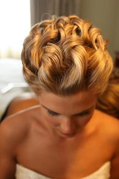 Great Wedding Hairstyle @}-,-;--