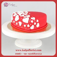 Cake And Flower Delivery, Send Birthday Cake, Valentines Day Gifts Boyfriends, Online Cake Delivery, London Cake, Heart Shaped Cakes, Cake Name, Valentine Cake, Cake Online