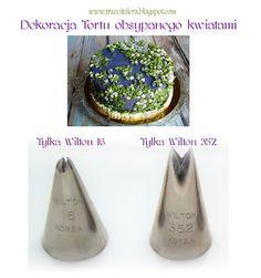 Tort obsypany kwiatami 2 - pomysł na dekorację