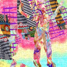 #maha_masoud  #ipad #draw #colors #fabric #collage #mixmedia #instagram #art #journal