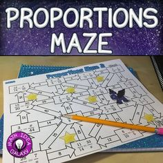 Solving Proportions Activity Maze