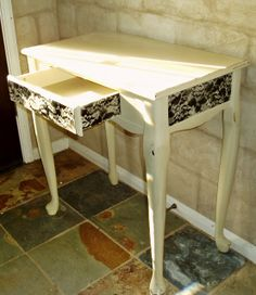 Faux Painting + Furniture: Lace