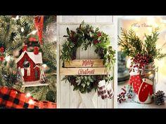 DIY ROOM DECOR! 24 Easy Crafts Ideas for Christmas - Christmas Decorations - YouTube