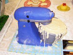 Torta: Forma de batidora