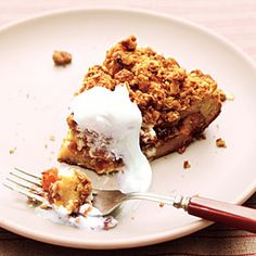 Streusel-Topped French Toast Casserole with Fruit Compote | MyRecipes.com