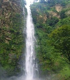 Wli Waterfalls in Ghana, Africa.