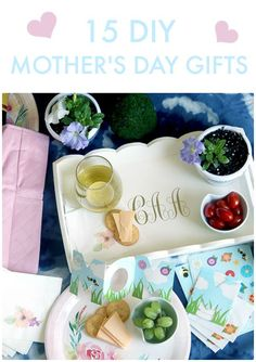 I might be biased, but I love the time of year around Mother's Day. Here are 15 DIY Mother's Day Gifts from this week's Best Friday Features!