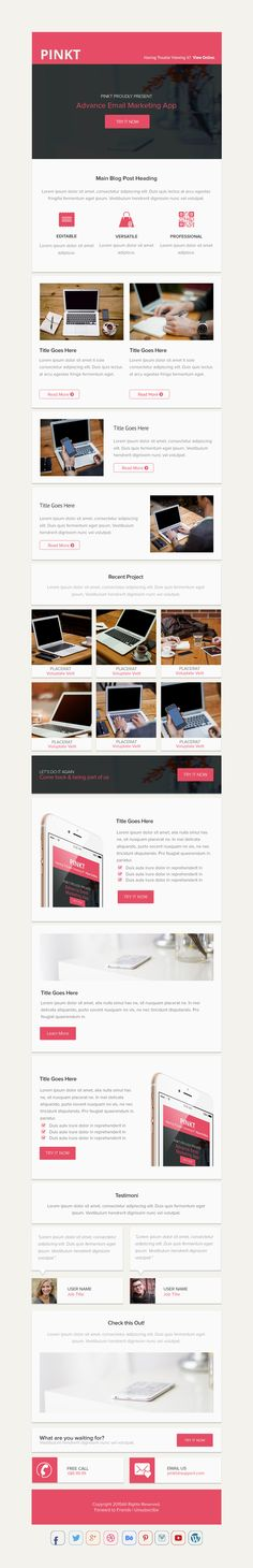 Deso - Responsive Email Newsletter Template Responsive email - email newsletter template