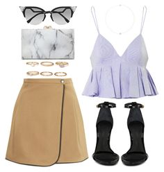 """""""906"""" by dasha-volodina ❤ liked on Polyvore featuring Forever 21, Boutique, Schutz, Charlotte Olympia, Alexander Wang, Fendi and Loren Stewart"""