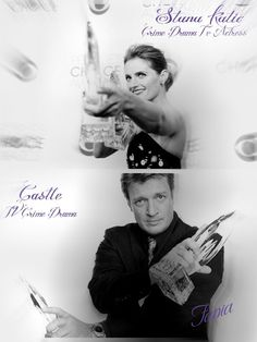 Congratulations to Stana, Nathan, and the cast of Castle