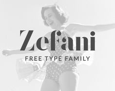 """Check out this @Behance project: """"Zefani - Free Type Family"""" https://www.behance.net/gallery/28603693/Zefani-Free-Type-Family"""