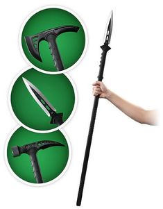 M48 Tactical Survival Series Spear, Hammer and Axe... Could come in handy for the zombie apocalypse ...