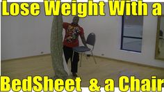Lose Weight Fast With This Home Weight Loss Workout (Bed Sheet Workout #1)
