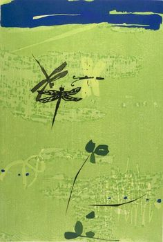 Kasamatsu Shirou 笠松紫浪 (1898-1991)  Haru no hi ni 春の日に (On a Spring day) - 1964, Japan