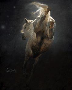 cool photo... Equine love...