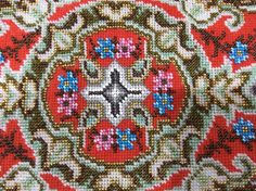 Antique Victorian Beadwork Panel. in Antiques, Fabric/ Textiles, Embroidery | eBay