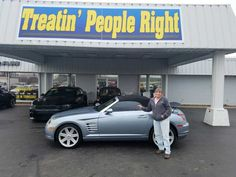Congratulations Tim & Kim Ashley on the purchase of your 2005 Chrysler Crossfire. We appreciate your business & friendship.
