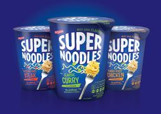 Supernoodles are go! on Packaging of the World - Creative Package Design Gallery