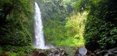 Bali Indonesia Holiday Travels: Nungnung Waterfall - Experience a Refreshing Atmos...