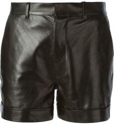 Saint Laurent cuffed shorts