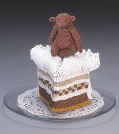 knitted desert
