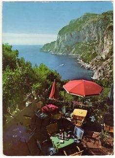 Capri; Napoli; Panorama Dal Bar Cincilla