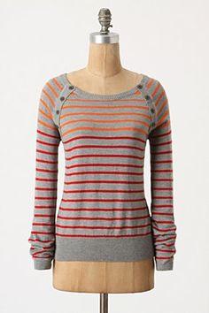 Gradated Stripes Pullover