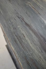 Like combo annie sloan chalk paint- graphite and country grey