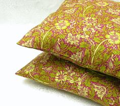 Decorative Pillow Covers. Set of Two 16x16.  by GaranceCouture