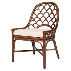 Check out this item at One Kings Lane! Koi Side Chair, Walnut