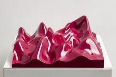 Peter Saville, Unknown Pleasure, Claret Violet (2012)