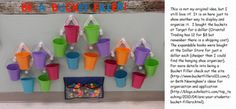 "This looks like a cute bulletin board idea to use in conjunction with the book ""Have you Filled a Bucket Today?"" My kids loved the book and I can see my next group getting really excited about putting warm fuzzies in their bucket."
