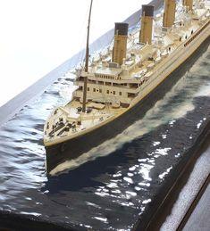 Titanic Model, Rms Titanic, Maquette Titanic, City Model, Model Ships, Model Trains, Boat, Models, Hobby