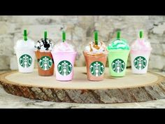 DIY American Girl Doll Starbucks Frappe - YouTube