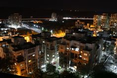 Night-time in the city of Pune
