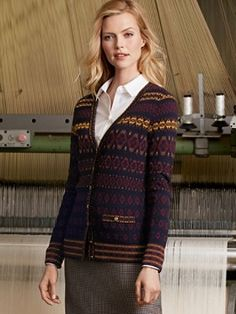 All American Cardigan - this could look cool with a change of styling