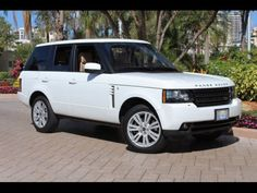 2012 Land Rover Range Rover HSE White http://www.iseecars.com/used-cars/used-land-rover-range-rover-for-sale