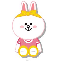 Cony Cony Brown, Line Friends, Line Sticker, Cute Cards, Card Ideas, Hello Kitty, Lime, Stickers, Fictional Characters