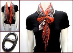 MaiTai's Picture Book: Double scarves, double fun: Twist wrap
